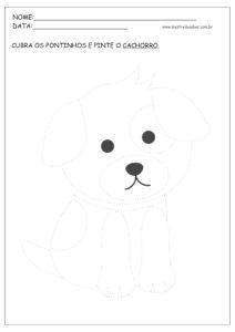 1 - Desenhos Pontilhados