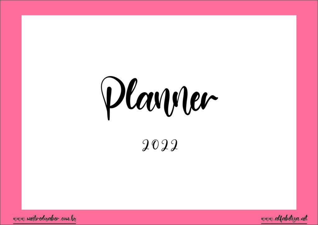 1 - Planner PDF 2022
