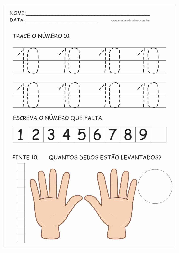 10 - Atividades de Educação Infantil e Números
