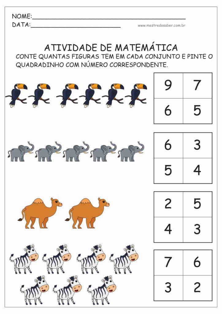 10 - Atividades de Matemática Educação Infantil
