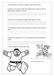 10 - Atividades João e o Pé de Feijão