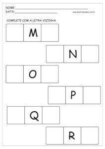 11 - Atividade Alfabeto