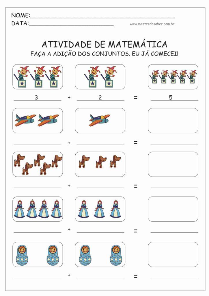 11 - Atividades de Matemática Educação Infantil