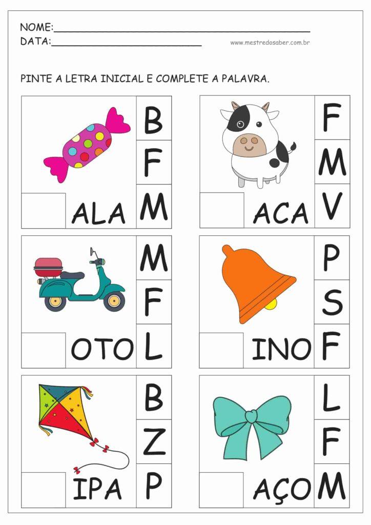 11 - Atividades para Educação Infantil 5 anos