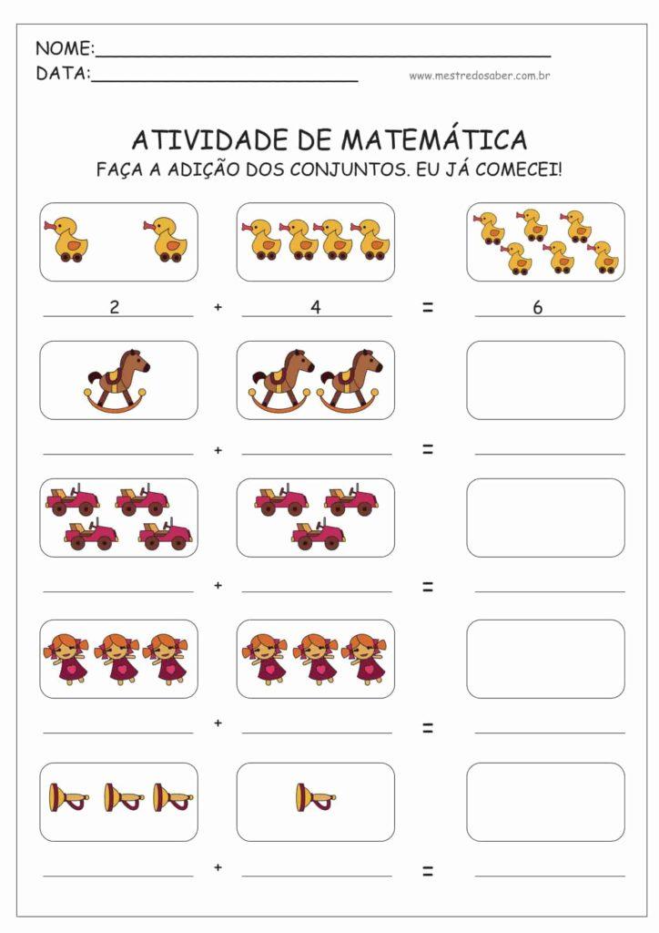 12 - Atividades de Matemática Educação Infantil