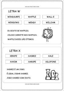 12- Fichas de Leitura para imprimir
