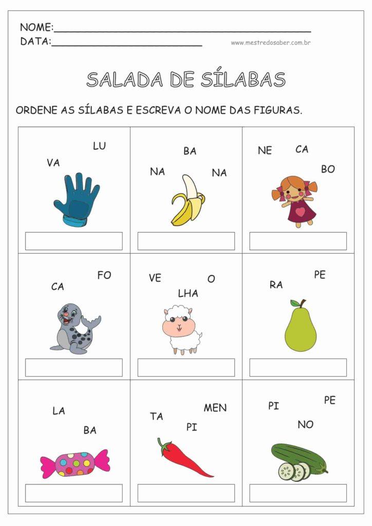 13 - Atividades de Alfabetização 1 ano