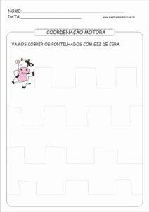 13 - Atividades de Coordenação Motora Fina para Imprimir