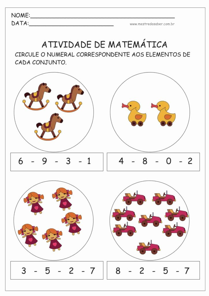 13 - Atividades de Matemática Educação Infantil