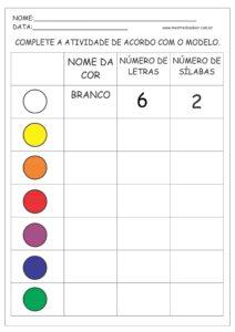 13 - Atividades de Português 1 ano Alfabetização
