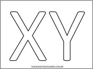 13 - Molde de Letras para Imprimir