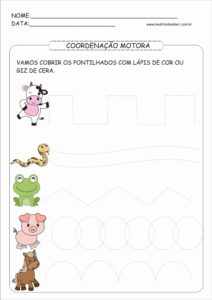 14 - Atividades de Coordenação Motora Fina para Imprimir