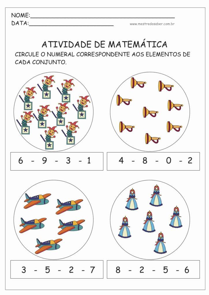 14 - Atividades de Matemática Educação Infantil