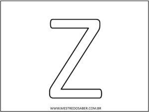 14 - Molde de Letras para Imprimir