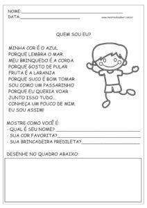 17 - Atividades de Português 1 ano Alfabetização