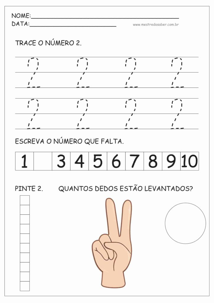 2 - Atividades de Educação Infantil e Números
