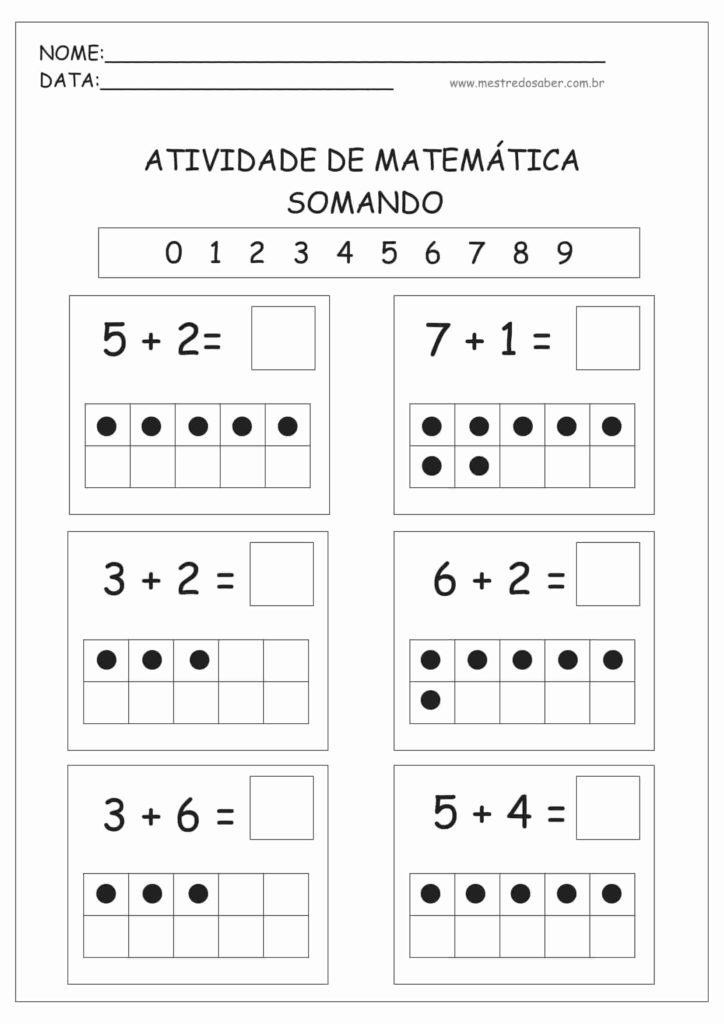 2 - Atividades de Matemática Educação Infantil