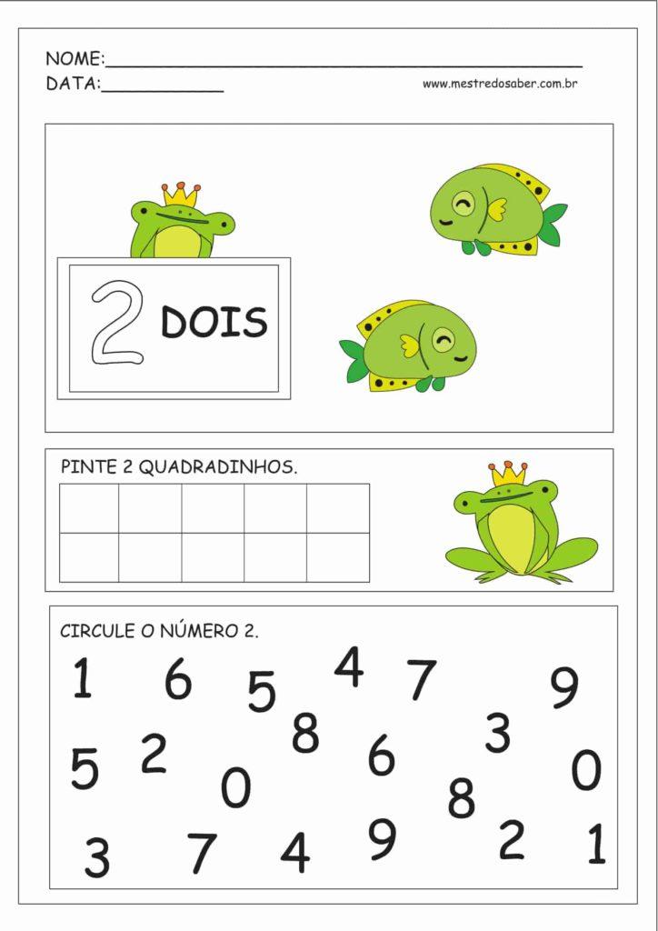 2 - Atividades Educação Infantil Números e Quantidades