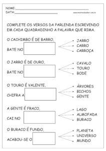 23 - Atividades de Português