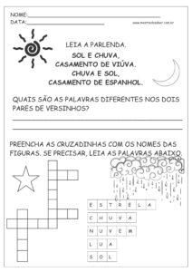25 - Atividades de Português