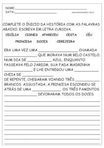 28 - Atividades de Português
