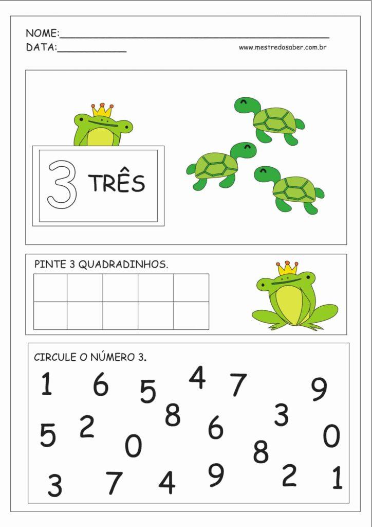 3 - Atividades Educação Infantil Números e Quantidades