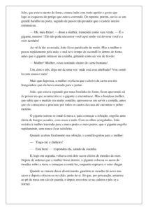 3 - História João e o Pé de Feijão