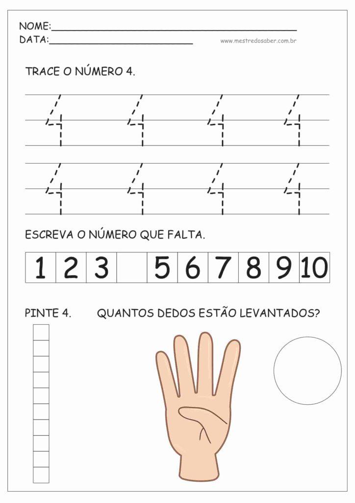 4 - Atividades de Educação Infantil e Números