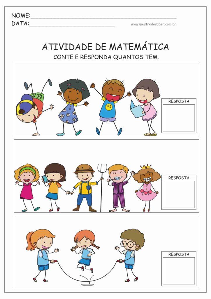 4 - Atividades de Matemática Educação Infantil
