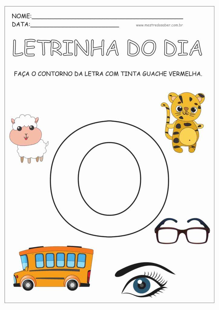 4 - Atividades para Educação Infantil 4 anos