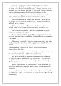 4 - História João e o Pé de Feijão