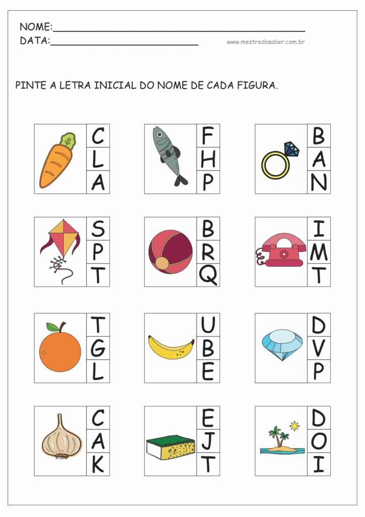 5 - Atividades de Alfabetização