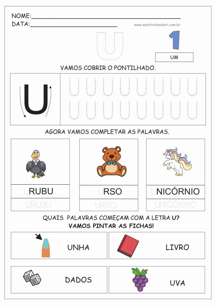 5 - Atividades de Alfabetização para Educação Infantil