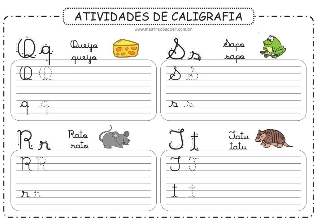 5 - Atividades de Caligrafia