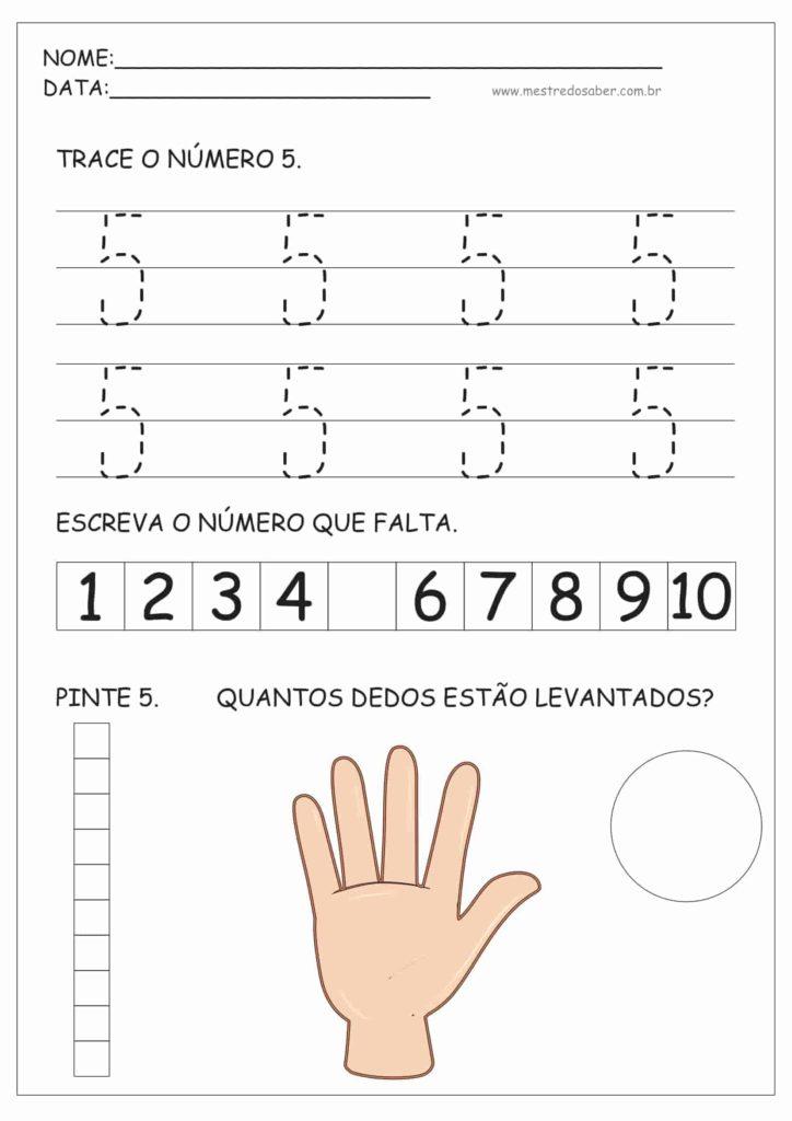 5 - Atividades de Educação Infantil e Números