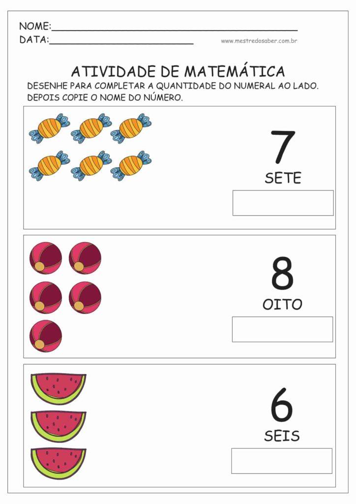 5 - Atividades de Matemática Educação Infantil