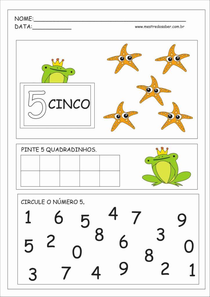 5 - Atividades Educação Infantil Números e Quantidades