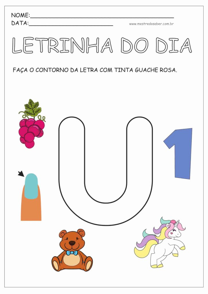 5 - Atividades para Educação Infantil 4 anos