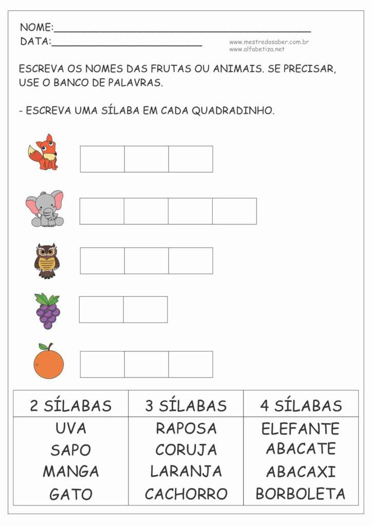 5 - Português Atividades 2º ano