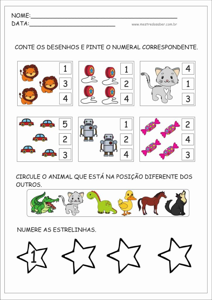 6 - Atividade para Crianças
