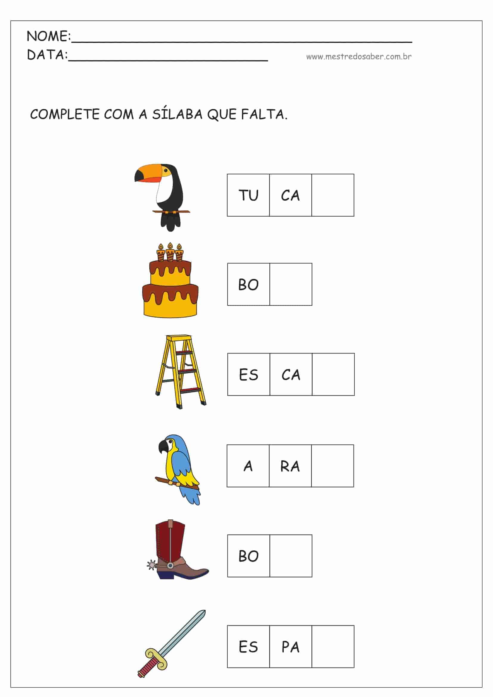 Ideias criativas de atividades para educação infantil
