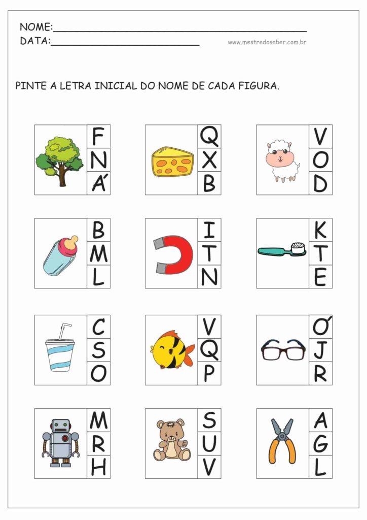 6 - Atividades de Alfabetização