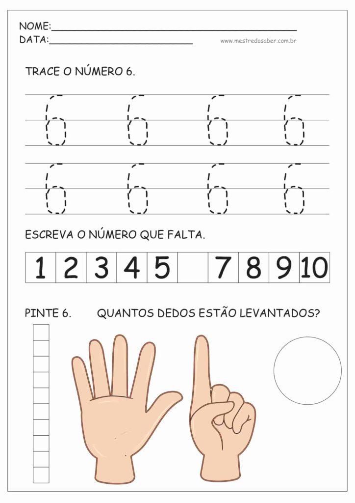 6 - Atividades de Educação Infantil e Números