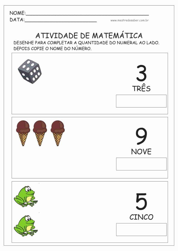 6 - Atividades de Matemática Educação Infantil