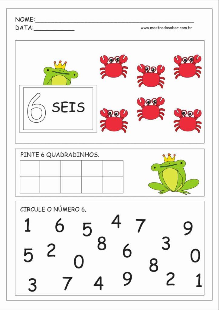 6 - Atividades Educação Infantil Números e Quantidades