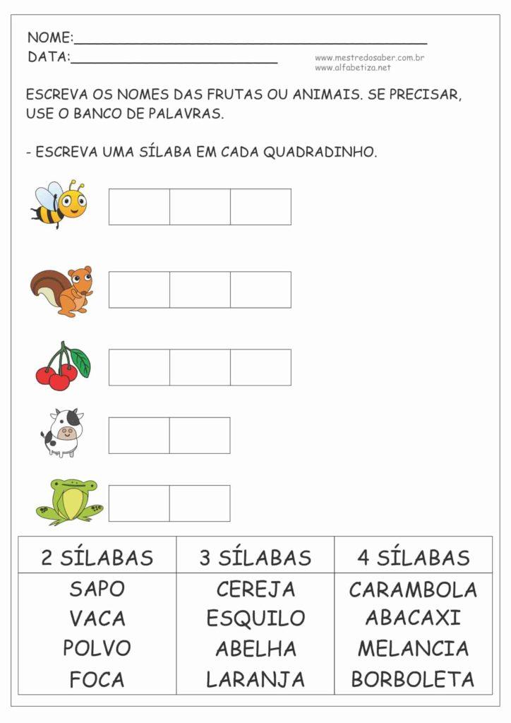 6 - Atividades de Português para segundo ano