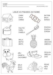 7 - Atividades de Português 1 ano