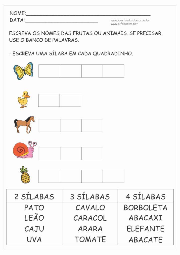 7 - Atividades de Português 2º ano Fundamental