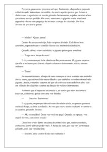 7 - História João e o Pé de Feijão
