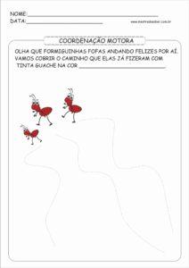 8 - Atividades de Coordenação Motora para Educação Infantil